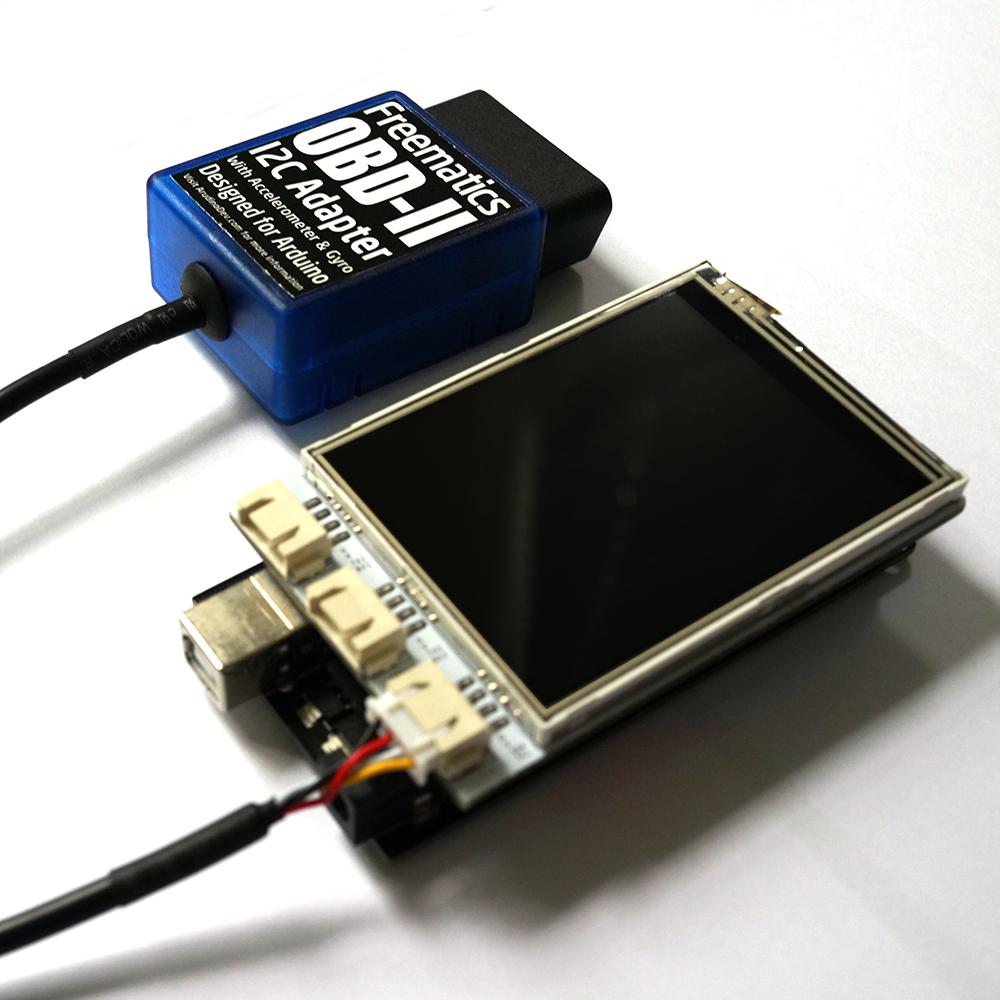 Freematics obd ii telematics advanced kit arduino mega