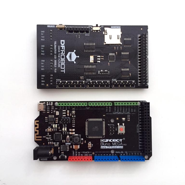 Arduino MEGA 2560 TFT 35 Глюки