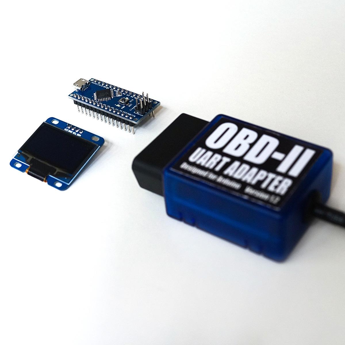 Freematics obd ii telematics starter kit arduino nano