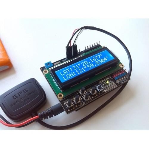 GPS Receiver for Arduino - UBX-M8030