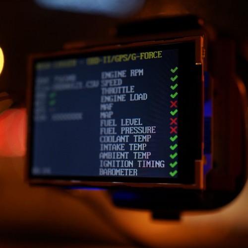 Obd ii telematics kickstarter kit compact arduino mega