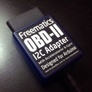 Freematics OBD-II I2C Adapter (for Arduino)