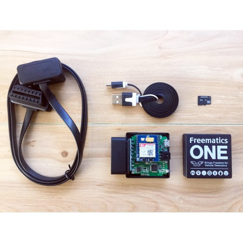 Freematics Vehicle Telemetry Starter Kit